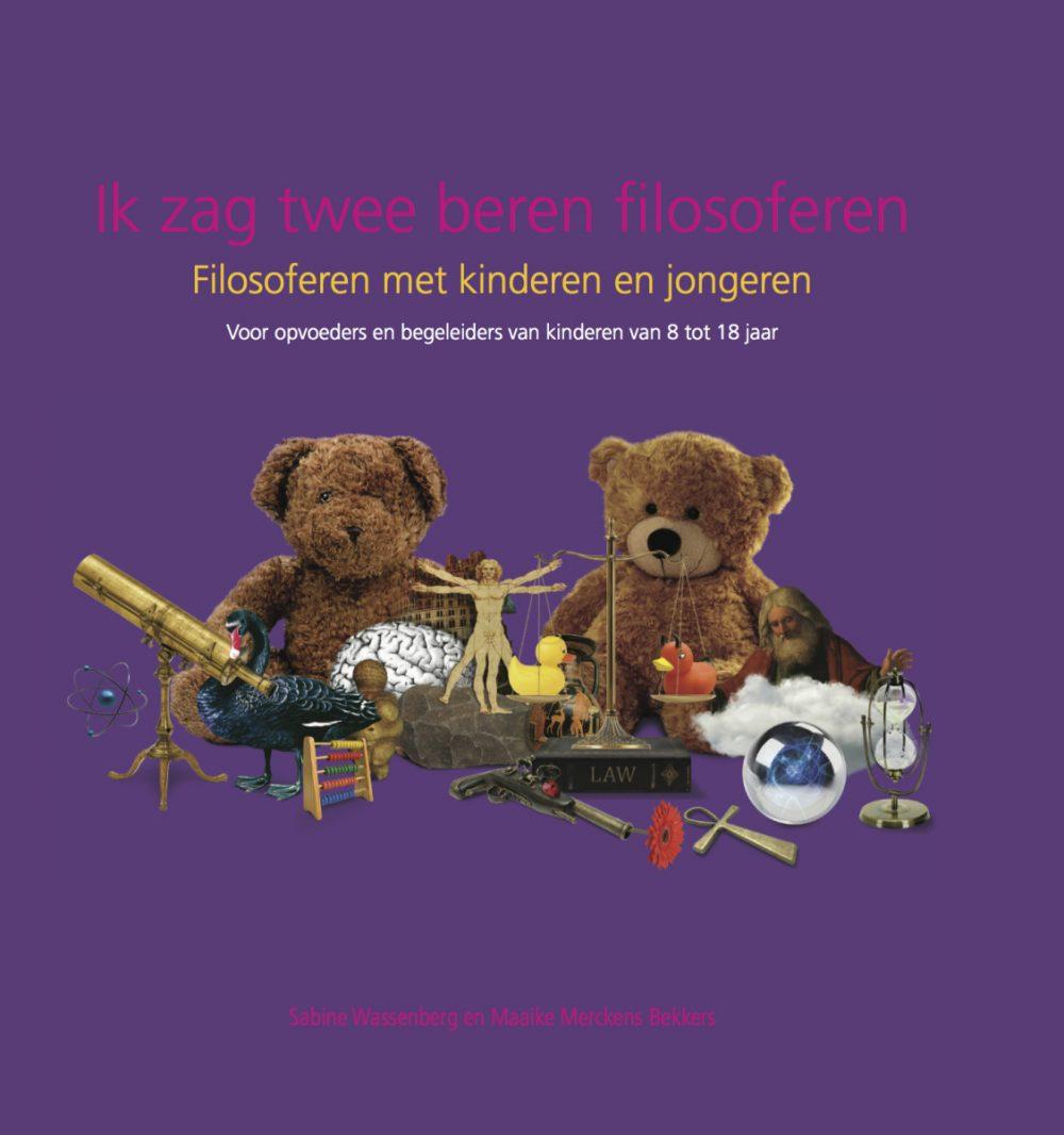 De cover van Ik zag twee beren filosoferen