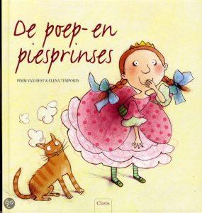 Cover De poep- en piesprinses