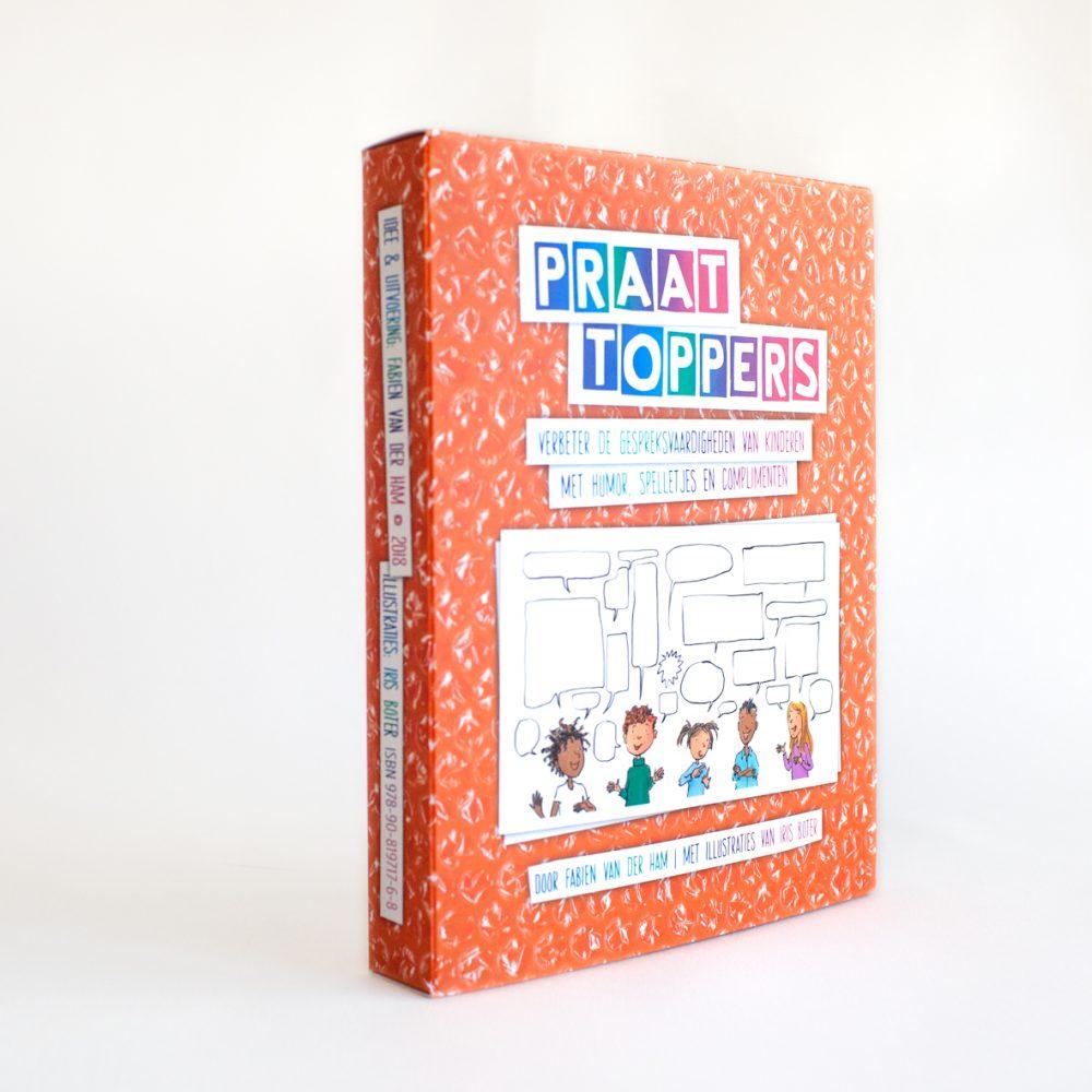Met de Praattoppers kun je de gespreksvaardigheden van kinderen verbeteren.