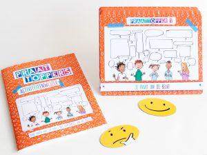 Praattoppers helpen om kinderen te coachen op hun gespreksvaardigheden.