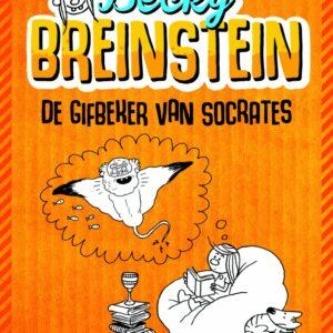 De cover van Becky Breinstein en De Gifbeker van Socrates.