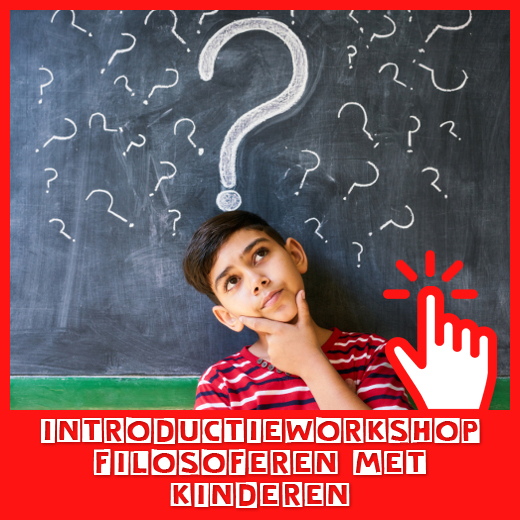Start de serie workshops met de introductieworkshop filosoferen met kinderen