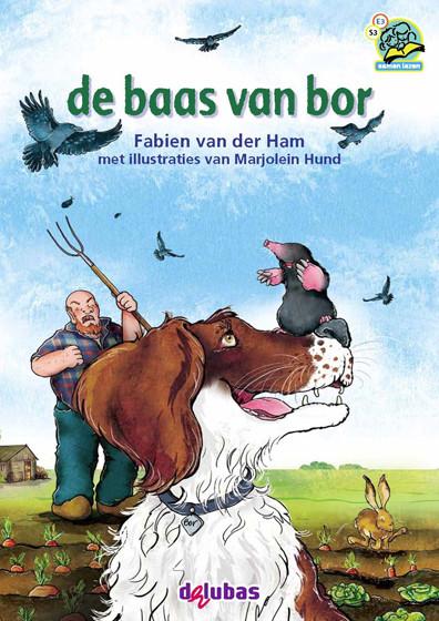Cover van De baas van Bor