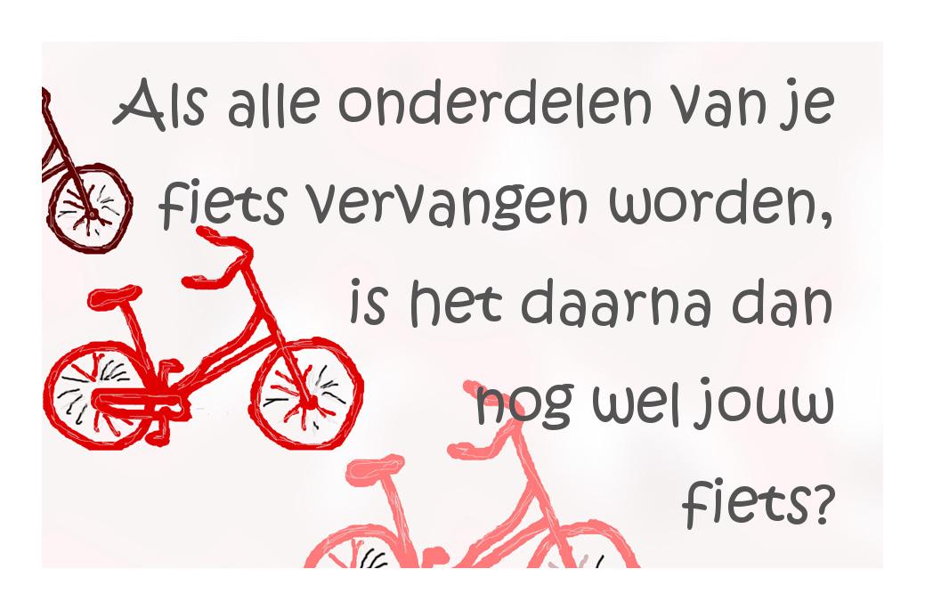 Heeft je fiets een identiteit?