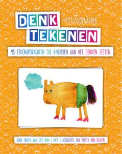 De cover van Denktekenen; een filosofiespel met 45 tekenopdrachten