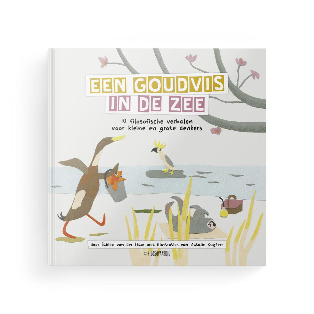 Cover van Een goudvis in de zee