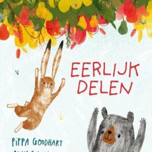 Cover van het prentenboek Eerlijk delen