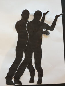 Dansende silhouetten