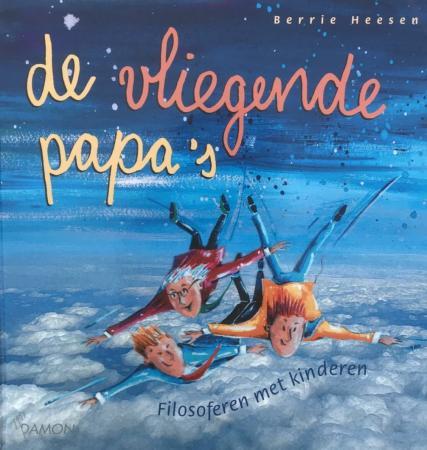 Cover van Vliegende papa's van Berrie Heesen