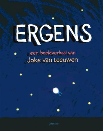 Cover van ergens van Joke van leeuwen