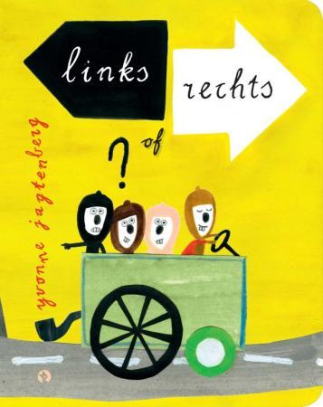 Cover van Links of rechts - filosofische kunstboeken voor kinderen