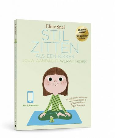 Cover van Stilzitten als een kikker - werkboek