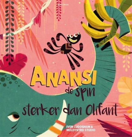 Cover van Anansi sterker dan olifant