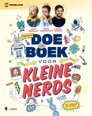 Cover van het doeboek voor kleine nerds